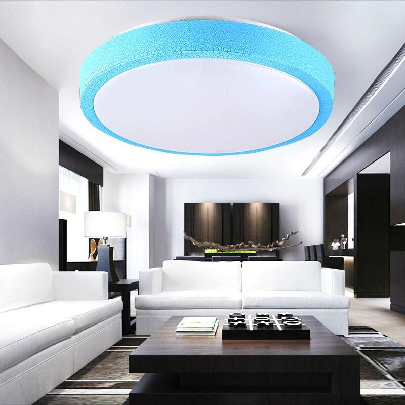 Surface Mounted Modern Led Ceiling Lights For Living Room Light Fixture LED Ceiling  Lights Dia 350mm 220V Or 110V 16W 36W In Ceiling Lights From Lights ...