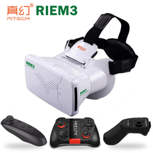 New Arrival RITECH Riem three Digital Actuality 3D VR Glasses Head Mounted Headset Non-public Theater For three.5 – 6.zero inches Smartphone