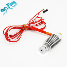 FreeShpping!!!   Short-distance, 3D Printer J-head Hotend for 1.75mm/3.0mm 3D Bowden Extruder 0.2mm/0.3mm/0.4mm Nozzle