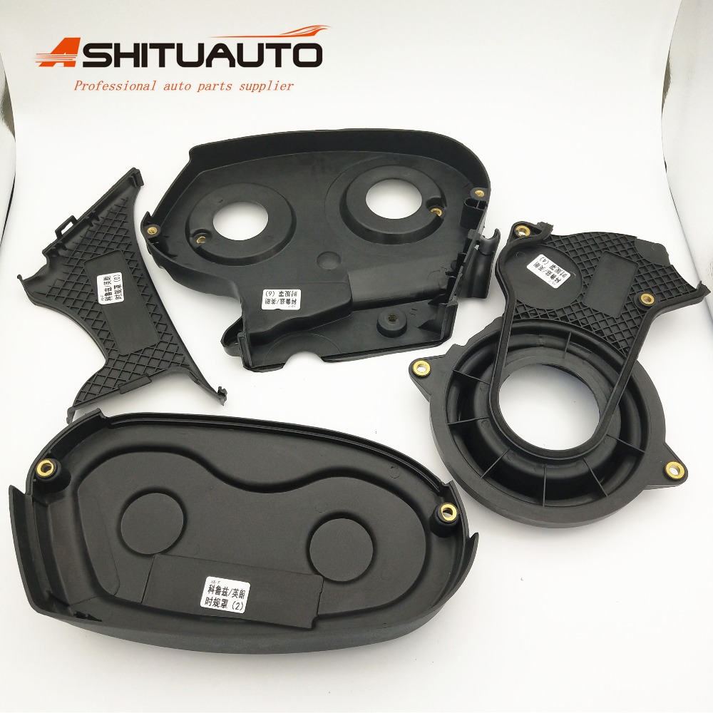 AshituAuto 4pcs set Engine timing system cover For Chevrolet Cruze Epica Malibu Buick New Regal Excelle