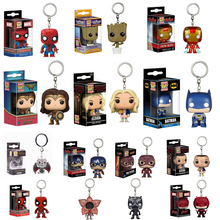 FUNKO POP Pocket Pop Sleutelhanger Officiële Wonder Woman Black Panther Iron Man Dragon Action Figure Collectible Model Kerst Speelgoed(China)