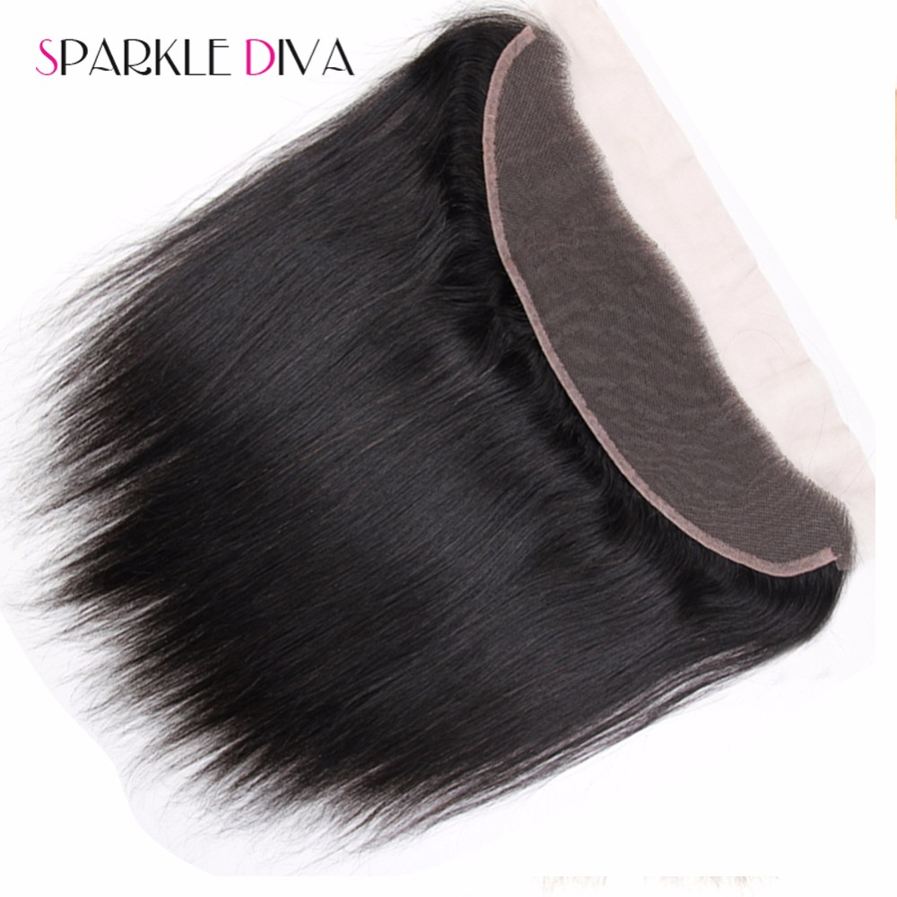 13x4 Ear To Ear Full Lace Frontal Closure With Bundles,Unprocessed Virgin Human Hair Extension Malaysian Straight With Closure (3)