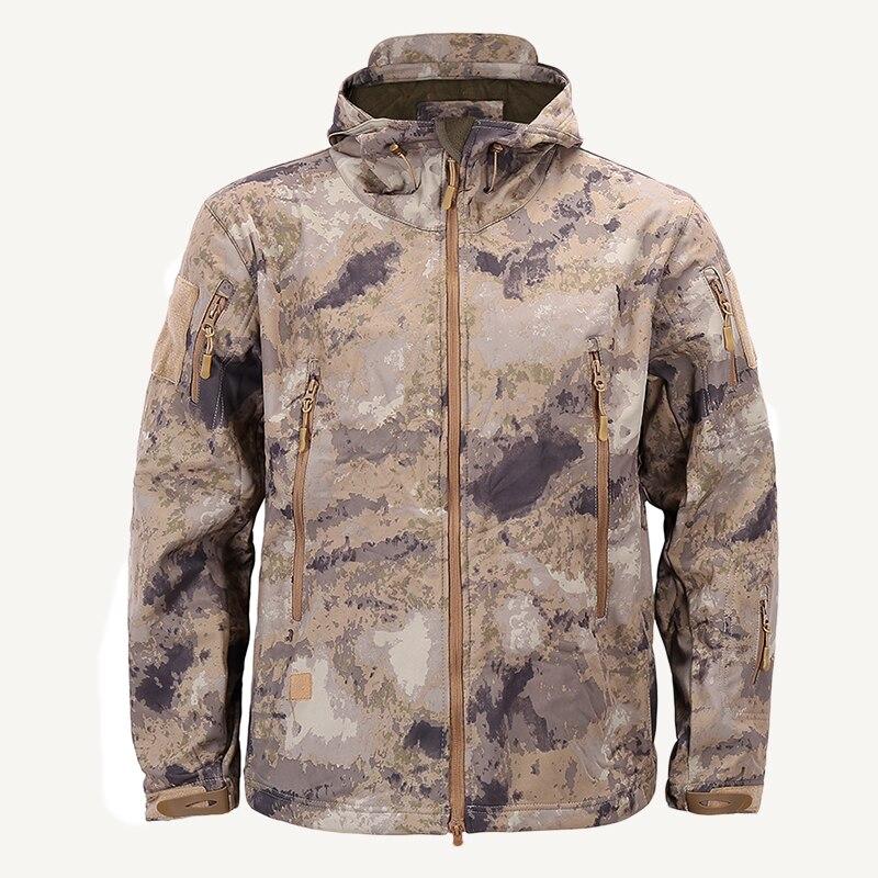 Softshell Men Thermal Jackets Ашық Кампинг Windbreaker - Спорттық киім мен керек-жарақтар - фото 3