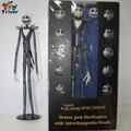 Pesadilla Antes de Navidad Jack Skellington Deluxe Con 12 Cabezas cambiables Acción PVC Figure Modelo Toy Doll 38 CM Triver juguete