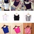 Новые Рубашки Дышащий Эластичность Леди Фитнес Короткие Блузка Одежды Сексуальный Жилет Для Женщин