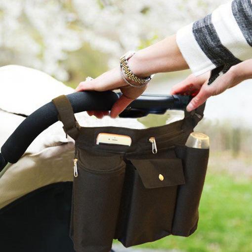 Carrinhos Carrinhos variando Saco Um bolso é projetado para a realização de Acessórios de bebê Carrinho de criança do guarda-chuva carrinho de criança disponível