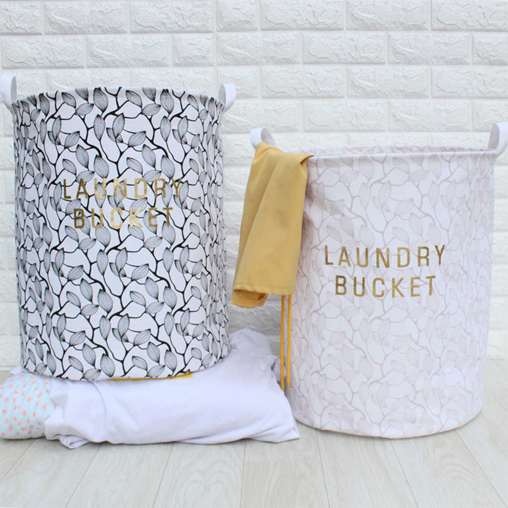 Waterproof Collapsible Laundry Box Home Office Toy Phone Charger Storage Basket Jewelry Makeup Organizer