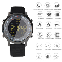 Bluetooth 4 0 Smart Watch EX18 5ATM Passometer Message Reminder IP68 With Camera Ultra Long Stand