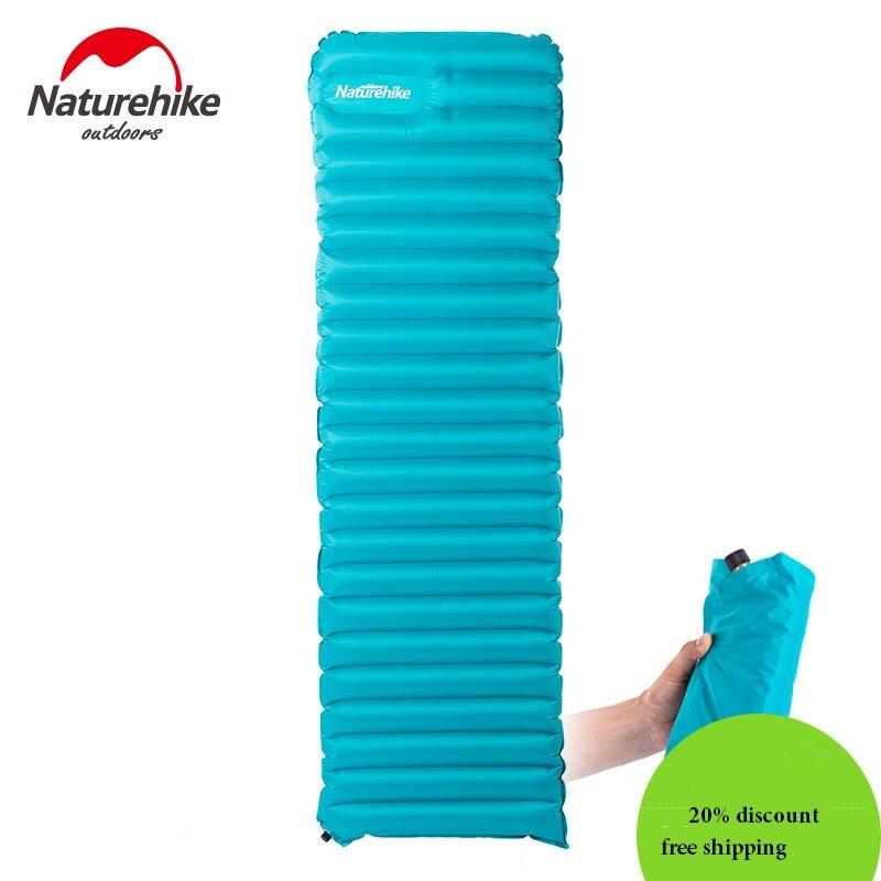 Natyrore Ultralight TPU Camping inflatable Dyshek Folding Sleleep - Kampimi dhe shëtitjet - Foto 2