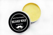 Natural Conditioning Softener Beard Wax – Use With Beard Oil and Balm for Best Results and Growth – Shea Butter and Beeswax