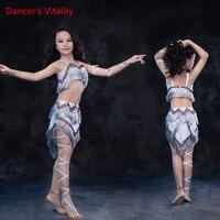 Танцы r жизнеспособность 2017 живота Танцы костюмы использовать Назад Открытие нерегулярные длинная юбка живота платье для танцев для живота