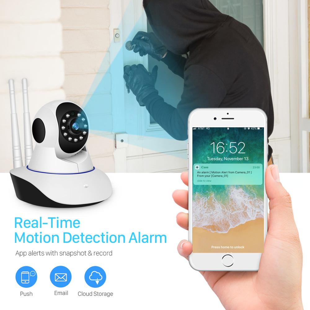 Image 2 - BESDER IP Camera Wireless H.265 1080P Home Security Surveillance Camera WiFi Wired IR Night Vision CCTV Camera 2MP Baby Monitor-in Surveillance Cameras from Security & Protection