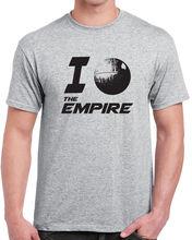 339 I love the Empire mens T-shirt funny star geek sith death star wars jedi new Free shipping  Harajuku Tops T Shirt printio slow death t shirt