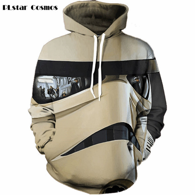 Star Wars Men Hoodie – 3D Trooper