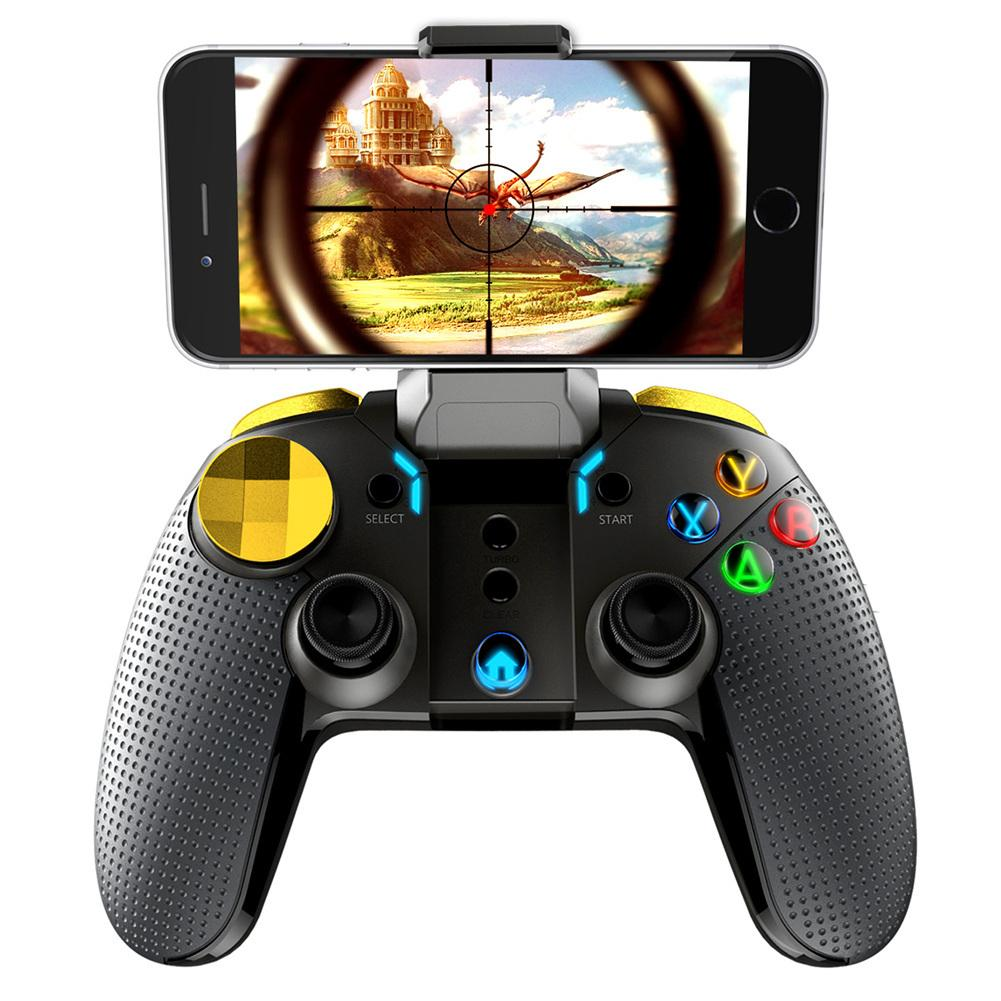 New PG 9188 Universal Grip Gamepad Eat Chicken Artifact PG 9120 Stretch Bluetooth Handle High Quality For Apple-in Gamepads from Consumer Electronics