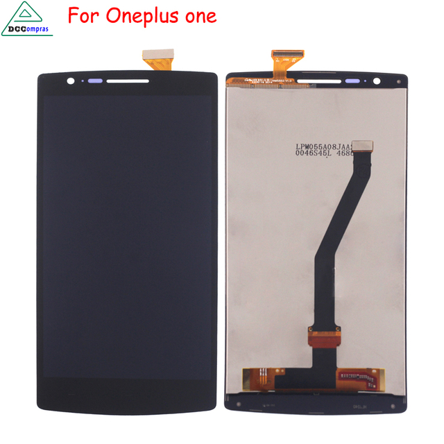 Original LCD For Oneplus One 1+ A0001 LCD Display Touch Screen Digitizer Assembly Replacement Free Tools