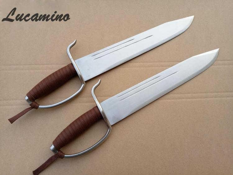 Sifu Wing Chun Thanh Kiếm Bart Cham Dao Bướm thanh kiếm đôi đầy đủ tang thiết kế Vòng xử lý Ba Triển Chiêu Dao Mới Sifu yongchun dao