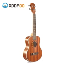 ADDFOO 21/23 дюйма укулеле 4 строка мини Гавайи гитара Sapele палисандр Ukelele сопрано концерт музыкальных инструментов для начинающих
