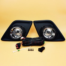 buy bumper toyota hilux and get free shipping on aliexpress comfor toyota hilux 2015 2016 2017 pickup bumper fog lights assembly direct replacement fog lamp kit w bulb h16 switch wire bezel