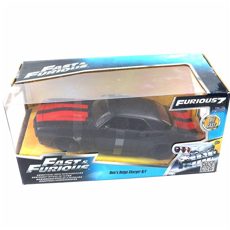 JADA 1/24 Échelle Modèle De Voiture Jouets de Dom Dodge Charger R/T Diecast Metal Voiture Jouet Pour Collection, cadeau, Enfants