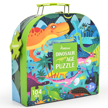104pcs Mideer Dinosaur Puzzle Science Cartoon Animal Toy Kids Early Education Children Games Gifts