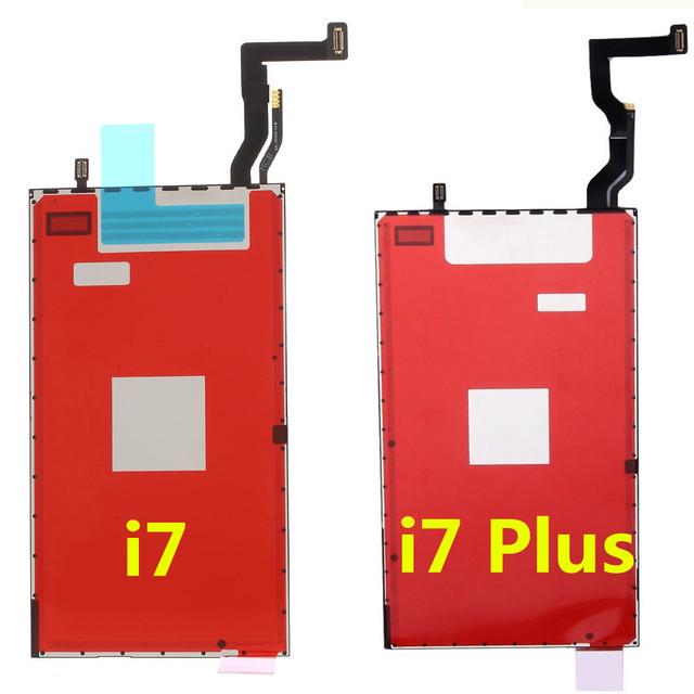 5 unids Pantalla LCD Módulo de Pantalla Táctil 3D Película Parte Flex Cable cinta de la película de luz de fondo luz de fondo de reemplazo para iphone 7/7 plus