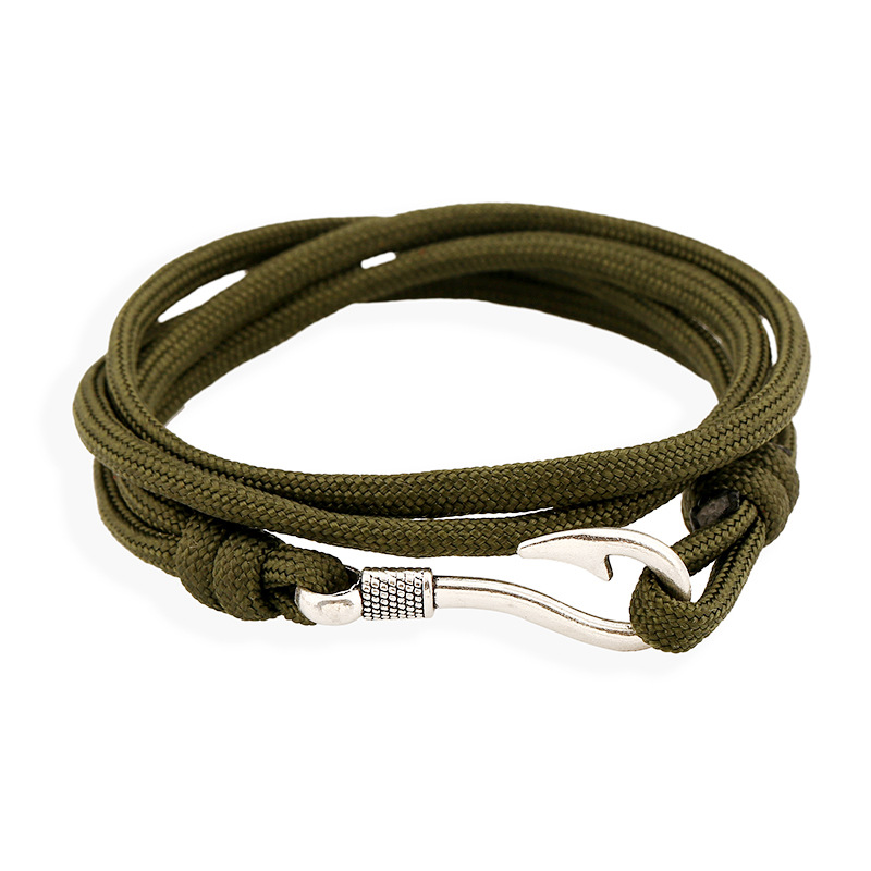 2017 Hot Sale Sterling Fish Hook Zinc New Fashion Bracelets s