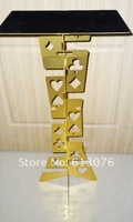 Magic Folding Table Alloy Golden Color Magician S Best Table Stage Magic Close Up Illusions Fire