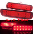 36LED Rear bumper reflector light tail brake lamp for Lexus LX470 98-07 Toyota Land Cruiser 1998-2007 red color top quality