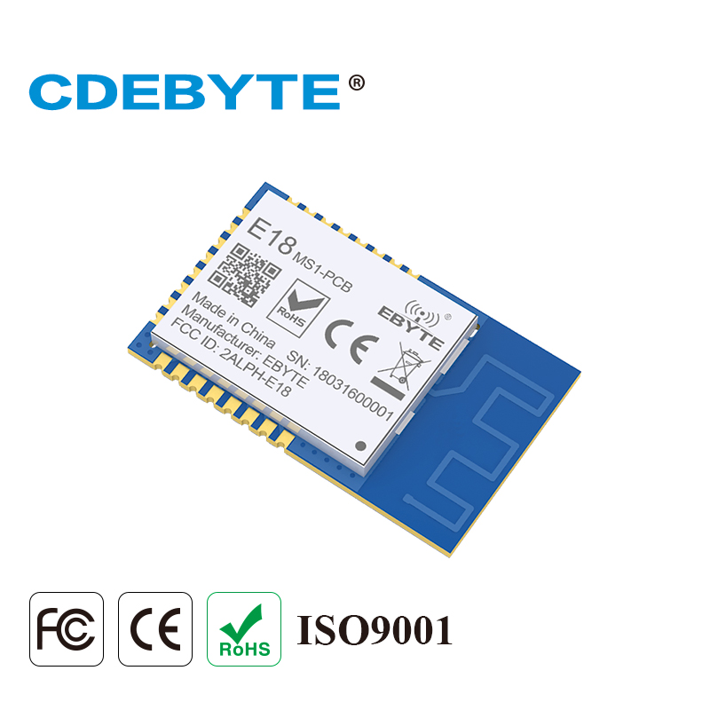 Image 5 - E18 MS1 PCB Zigbee IO CC2530 2.4Ghz 2.5mW PCB Antenna IoT uhf Mesh Network Wireless Transceiver Transmitter Receiver Module-in Fixed Wireless Terminals from Cellphones & Telecommunications
