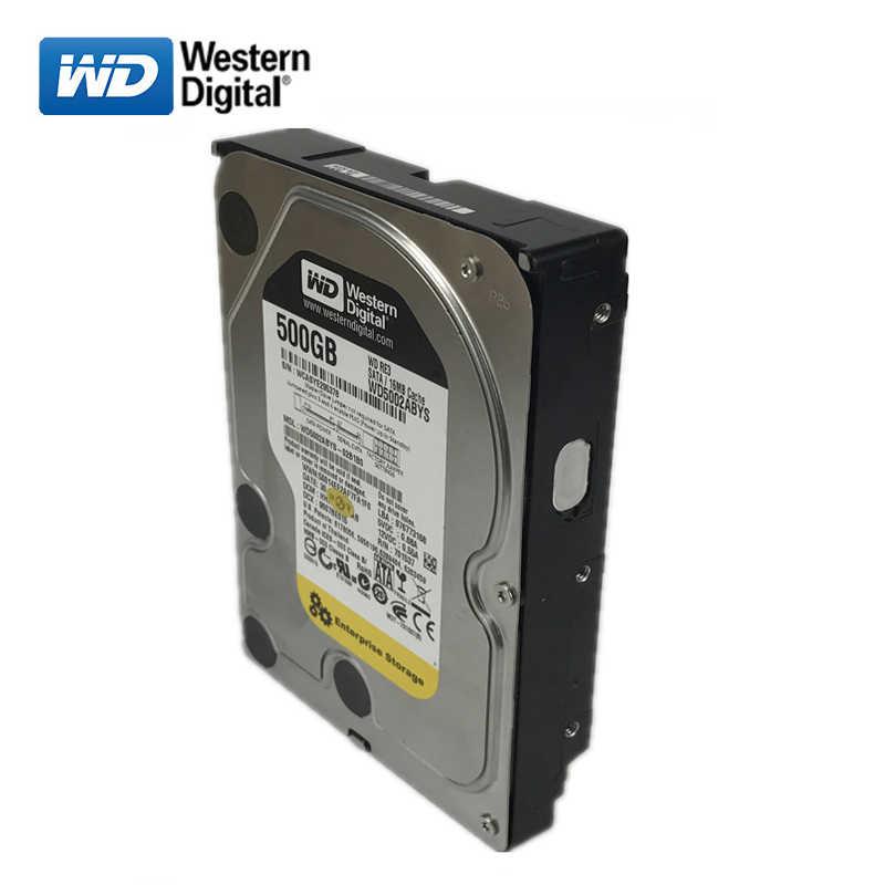"""WD черный диск 500 Гб встроенной жесткий диск 3,5 """"7200 об/мин SATA3 Игры Механическая HDD 6 ГБ/сек. 500G HD жесткий диск для настольных компьютеров"""
