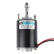 โปรโมชั่น!Xd 3420 30W แม่เหล็กถาวร DC มอเตอร์ความเร็วสูง CW/Ccw สำหรับเครื่องกำเนิดไฟฟ้า DIY ทนทานมอเตอร์แม่เหล็ก (DC 12V 3000 RPM)