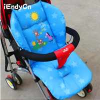 Cartoon Baby Stroller Seat  Thermal Thicken Pad Child Carriage Cushion  Cart  Mattresse Pillow Cover BB Car SIN01