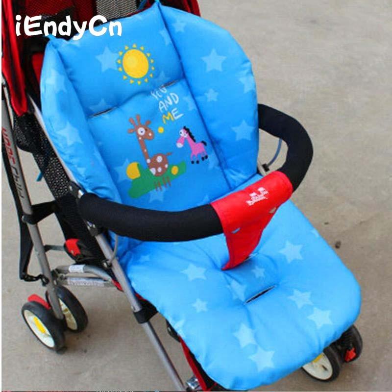 Cartoon Baby Stroller Seat  Thermal Thicken Pad Child Carriage Cushion  Cart  Mattresse Pillow Cover BB Car SIN01|cart stroller|stroller seatbaby stroller seat - AliExpress