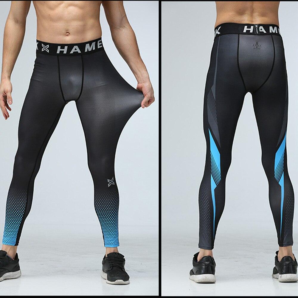 Новый Для мужчин сжатия База Слои Колготки Брюки для девочек бег Футбол тренировочные брюки спортивный зал Фитнес Баскетбол Футбол Леггинсы для женщин