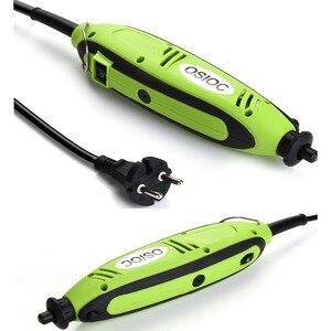 Image 1 - Mini perceuse électrique, outils Dremel, ciseleur pour le perçage, broyage, affûtage, coupe, ciselure, nettoyage, polissage, ponçage