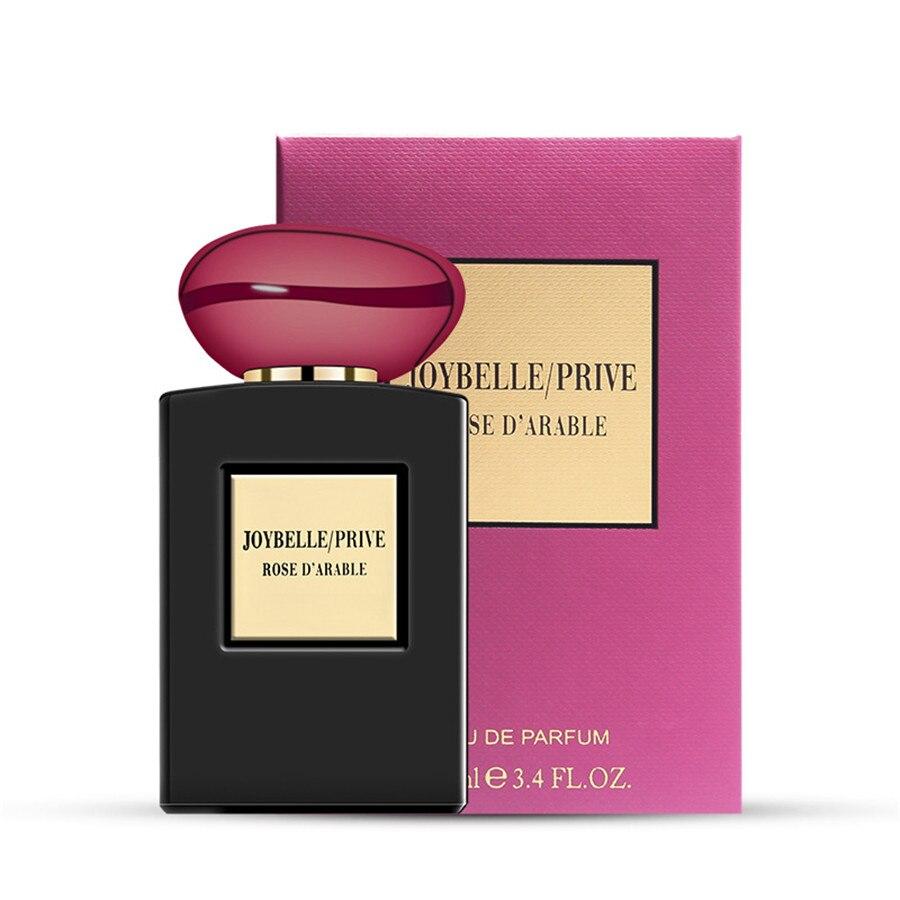 LAIKOU 100ml Antiperspirant Perfumed For Woman Female Fragrance Spray Deodorant Fashion Lady Parfum Glass Bottle Flowers Fruits