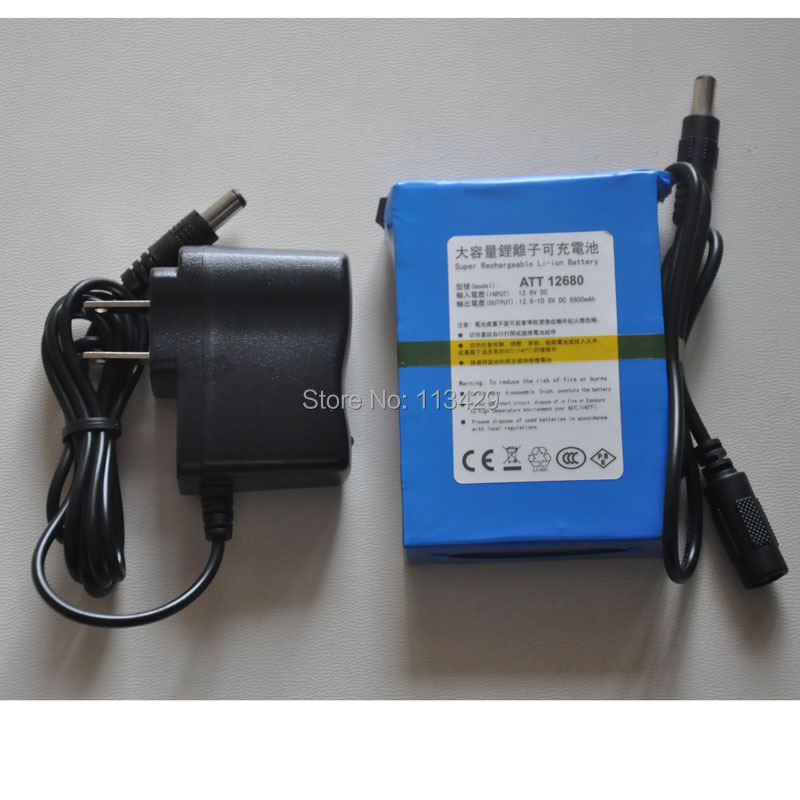 The large capacity rechargeable lithium battery backup power the large capacity rechargeable lithium battery backup power supply of 12v 6800ma 12 volt 6500 ma tm 12680 in rechargeable batteries from consumer sciox Image collections