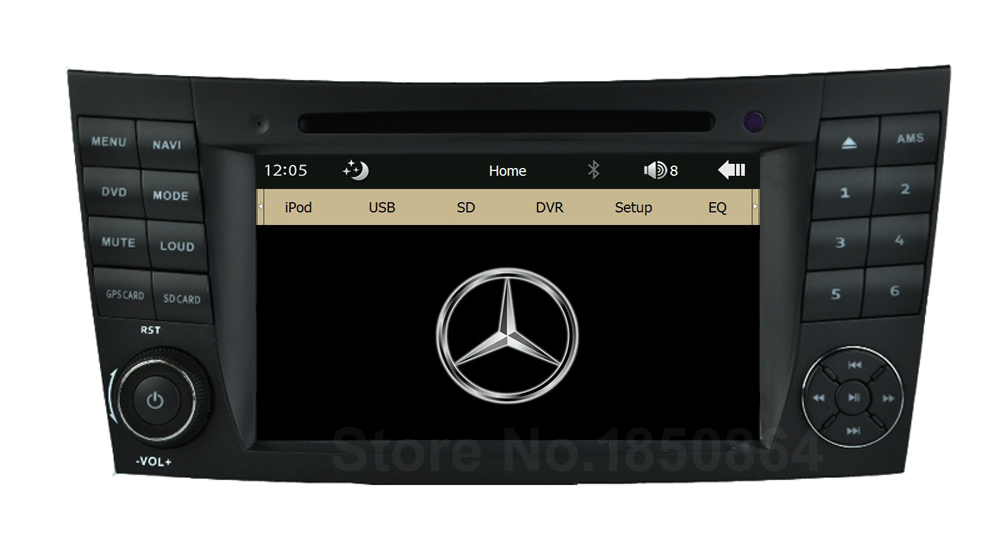 Original UI Car DVD Radio Player GPS Mercedes/Benz W209 W211 W219 W463 E200 E220 E240 E270 E280 E300 E320 + Canbus BT - Shenzhen Roads Electronic Technology Co., LTD store