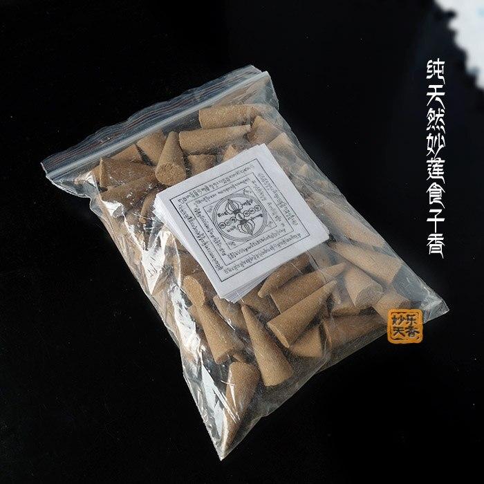 Meditation incense, Buddha incense cones, natural constituents of Tibetan incense