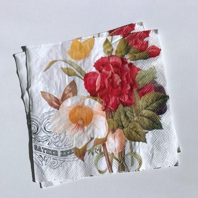 Peony paper napkins for decoupage 3333cm printed flower paper peony paper napkins for decoupage 3333cm printed flower paper napkins for wedding mightylinksfo