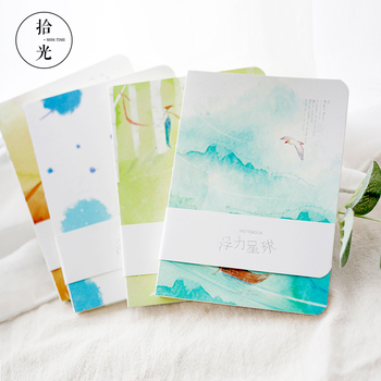 New Sketch book drawing Painting diary notebook paper 80 Sheets Sketch book Creative Trends stationary Products Gift loose leaf diary cowhide paper doodle book sketch block 1040913