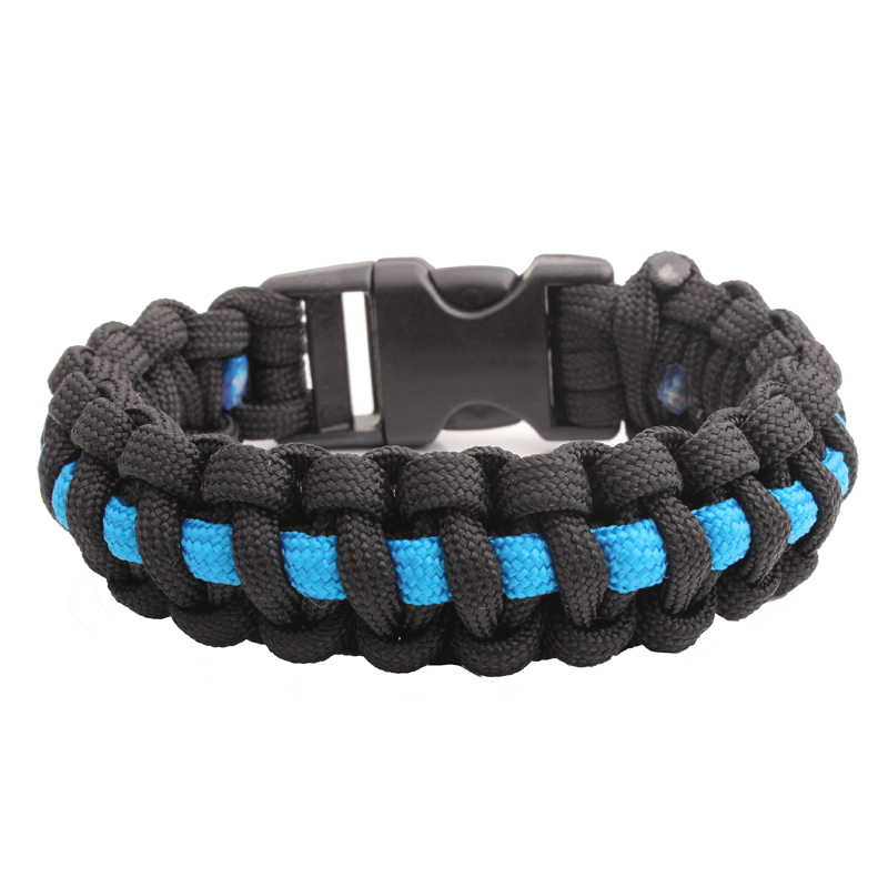 Camping & Outdoor Notfallausrüstung Paracord 550 Armband Bracelet Survival Überleben Outdoor Camping