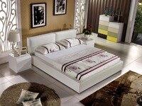 Letto дважды 2018 мягкая кровать Cabecero Кама современный Спальня мебель Muebles Para Casa Акция без King Лидер продаж