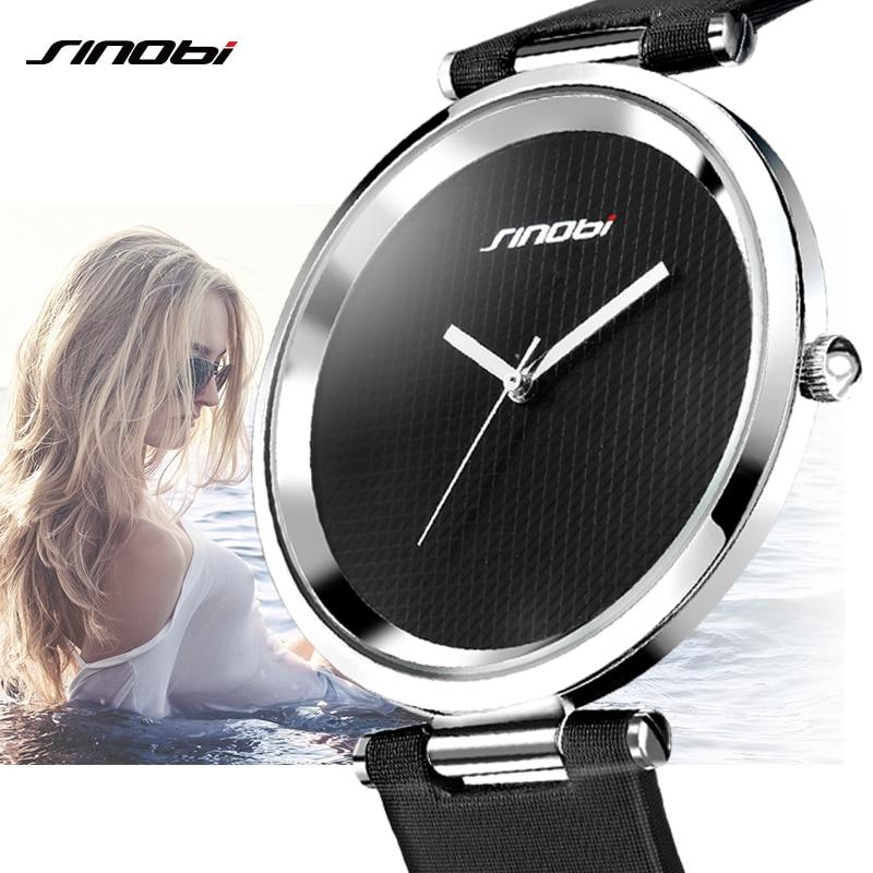 Fashion 7MM Ultra Thin Women Quartz Watch Casual Ladies Wrist Watches Luxury Leather Female Clock Lady Watches relogio feminino adriatica часы adriatica 8161 1213q коллекция gents