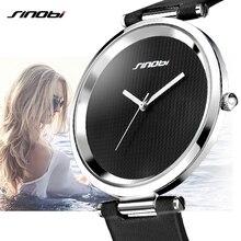 Fashion 7MM Ultra Thin Women Quartz Watch Casual Ladies Wrist Watches Luxury Leather Female Clock Lady Watches relogio feminino