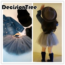 2019 new baby kids girls tutu skirt flower party weeding christmas ball gown princess lace children skirt year cute clothes цена 2017