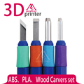 4 PCS conjunto de Escultores de Madeira Impressora 3D DIY Conjunto Kit de Ferramentas de Facas Escultura Escultura Kit De Ferramentas Para 3D Impressora de Filamento remoção