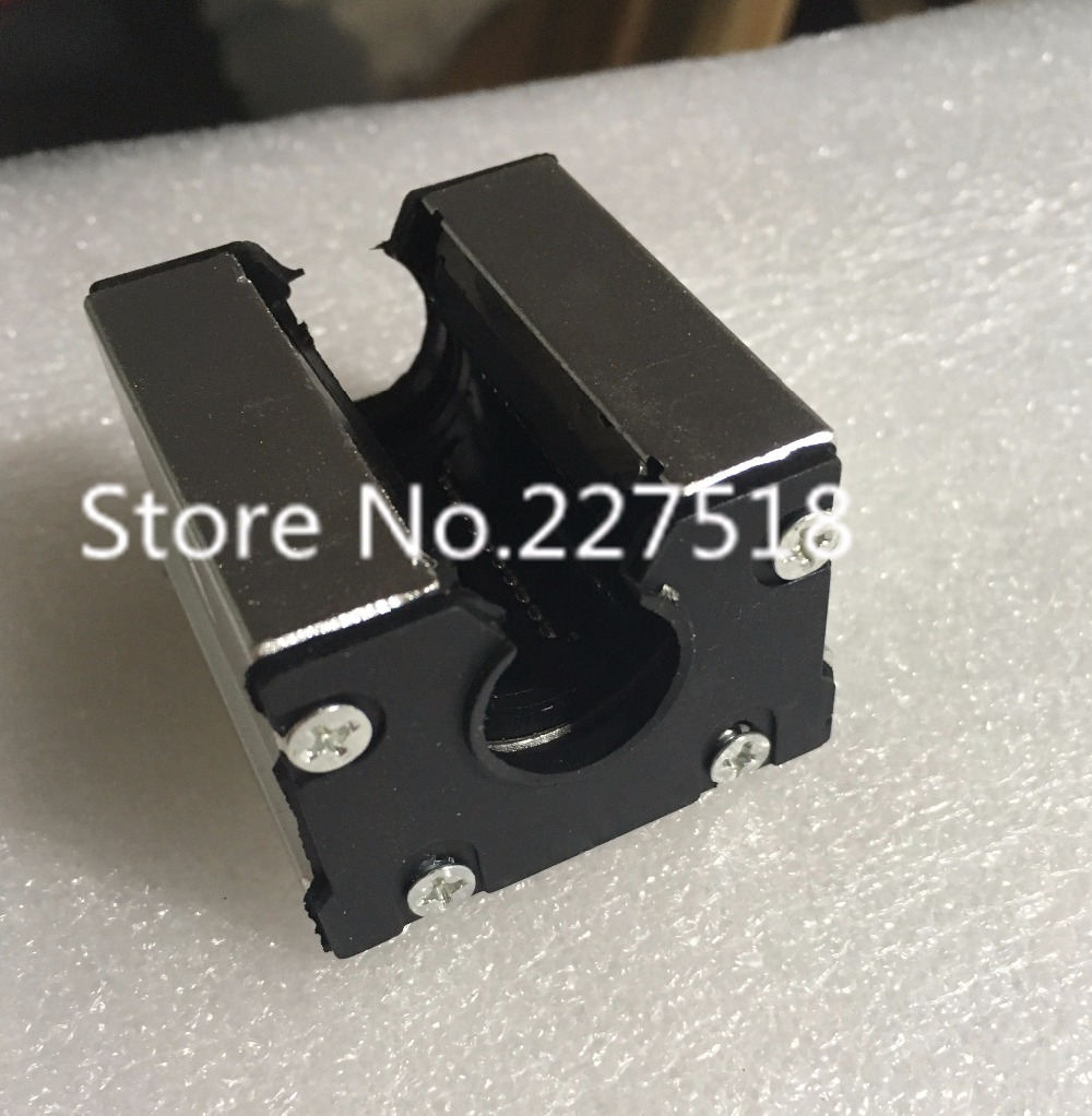 2pcs high quality SBR30UU 30mm Linear motion ball bearing slide block match use SBR30 30mm linear guide rail tbr30 30mm linear motion ball bearing pillow block silver tone