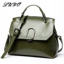 f18f96b59ec LUYO Mode Lederen Tas Voor Vrouw Luxe Handtassen Vrouwen Tassen Designer  Meisje Schoudertas Vrouwelijke Beroemde Merk